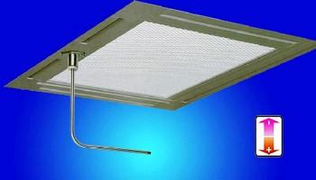 Flow Sensor monitors laminar flow in cleanrooms.
