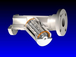 Y-Strainers handle corrosive and high-purity fluid flows.