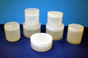 Olcott Plastics Offers Jars 'Naturally Frosted'