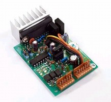 Driver powers 2- and 4-phase stepper motors.