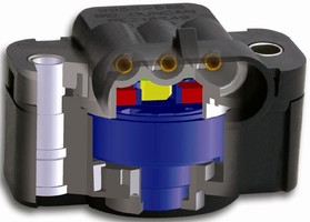Non-Contact Rotary Position Sensor suits harsh environments.