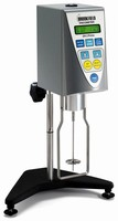 Viscometer features keypad with direct access buttons.