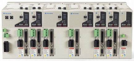 Servo Drives offer flexible motion control solutions.