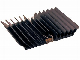 Heat Sink cools communications processors.