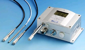 Transmitters feature fully digital measuring electronics.