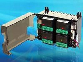 Programmable Logic Controllers handle 8-2,048 I/O points.