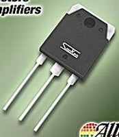 Single Transistors are made for audio amplifiers.