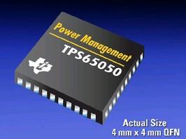 Power Management ICs target portable electronic designs.