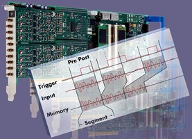 Oscilloscope Cards are optimized for radar signals.
