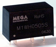 DC/DC Converters offer up to 10 kV isolation.