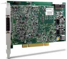 Multifunction DAQ Cards come in PCI and PXI form factors.