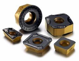 Insert Grade targets steel milling applications.