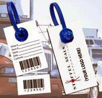 Tamper-Evident Tag combines security and logistics.