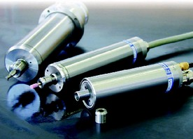 Lathe Spindles operate at speeds up to 60,000 rpm.