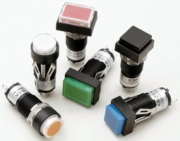 Miniature Pushbuttons offer multiple configuration options.