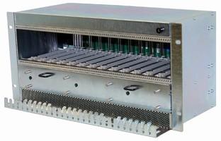 MicroTCA Shelf has 5U form factor and pluggable fan trays.