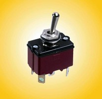 Sealed Toggle Switches suit harsh outdoor applications.