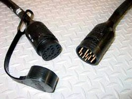 Plug and Connector feature watertight seal.