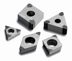 Milling Insert is optimized for case hardened steel.