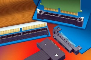 Samtec Micro Card Connectors with Edge Rate Contacts Offer High Speed Design Flexibility