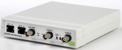 Oscilloscope Adapter features 8-channel logic analyzer.