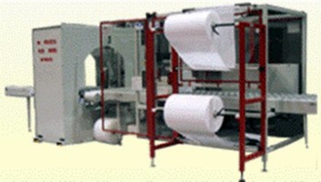 Wrapping Machine combines bundling and stretch technology.