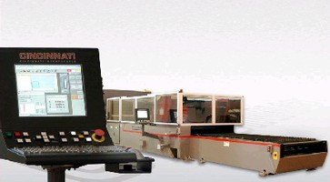 Laser Cutting System features PC-based control.