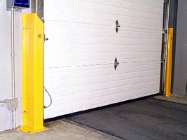 Steel Guard provides overhead door protection.