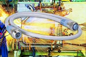 DeviceNet Cables feature TPE jackets to resist weld slag.