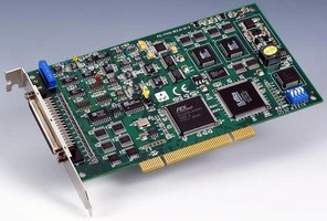 DAQ Card offers 1.0 MS/sec single-channel sampling rate.