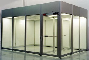Modular Cleanroom Walls feature bolt-together installation.