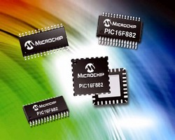 Microcontroller features eleven 10-bit ADC channels.