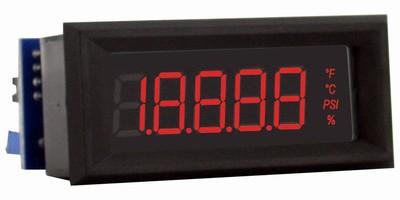 Digital Panel Meter features 3-1/2-digit LCD.