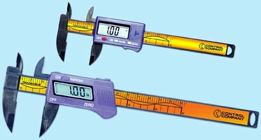 NIST Traceable Digital Calipers make ID and OD measurements.