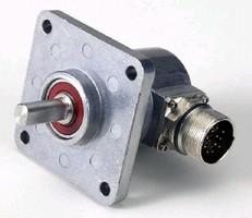 Incremental Shaft Encoder uses custom opto-ASIC circuitry.