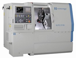 Turning Center features 5C 1-1/16 in. bar capacity spindle.
