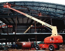 Boom Lifts do not need extendable axles.