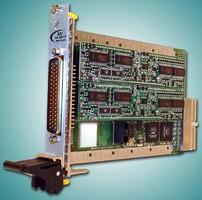 Single-Slot, 3U cPCI Card offers multifunction design.