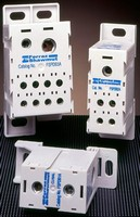 Power Distribution Blocks meet 100 kA short circuit rating.