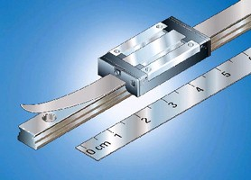 Miniature Ball Rails come in lengths up to 2,000 mm.