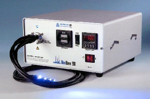 UV Curing Spot Lamp includes intensity adjustment feature.
