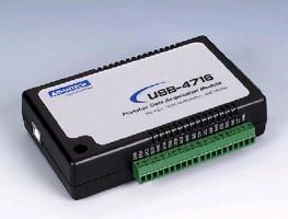 USB I/O Module provides 200 kS/s operation.