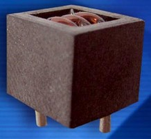 High Current Cube Inductor operates at up to 1 MHz.