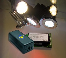 Powerstax High Efficiency Power Supply Selected for Energy Saving Lighting