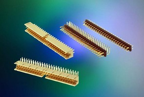 Headers support pin-in-paste soldering processes.