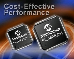 Microcontrollers include nanoWatt technology.