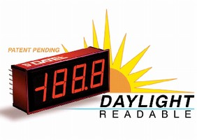 Digital Panel Meters include auto-dimming function.