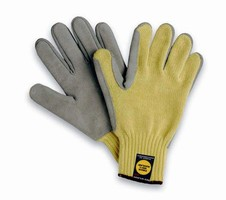 Fabricator's Glove offers protection during hazardous work.