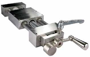 Linear Motion Slides feature 303 stainless construction.