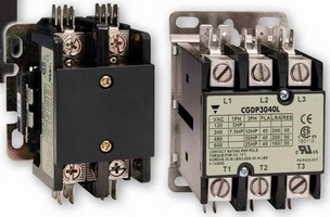 Definite Purpose Contactors come in multiple configurations.